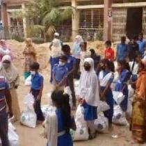Volunteer Azdani (07/2020, Dhaka)
